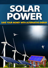 Solar Power - pdf eBook in a package with master resell rights eBook on CD