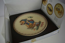 New 1984 Hummel Annual Collector Plate Little Helper #277 W Germany 14th Edition