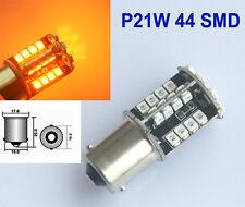 2x Car P21W 44 SMD LED 581 BA15S 1156 21W BULBS INDICATOR ORANGE AMBER 12V DC