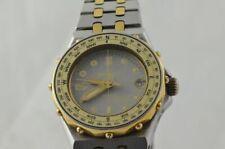 BREITLING TABARLY DAMEN UHR 80790 STAHL/GOLD QUARTZ VINTAGE