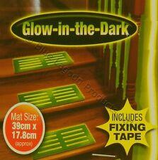 Glow In The Dark Stair Mat Matt Step Flourescent Luminous Caravan Non Slip PVC