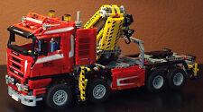 LEGO Technic 8258 Truck mit Kran Top Zustand mit 4 original Anleitungen
