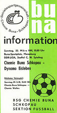 DDR-Liga 80/81 ZEPA Química Buna Schkopau-SG Dynamo Eisleben 29.03.1981