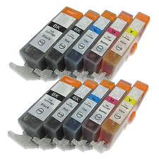 10 Pack Compatible Ink For Canon PGI-220 CLI-221 PIXMA MP640 MP640R MP980 MP990
