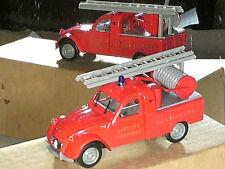 CITROEN 2CV PICK UP POMPIERS HENFLINGEN 1965/ NOREV