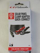 Solar Panel Clamp Adapter 12V - Schumacher 6 Foot