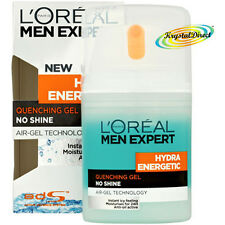 Loreal Men Expert Hydra Energetic Quenching Gel No Shine Cold Face Cream 50ml