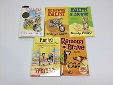 Lot of 5 Children's Books - Ralph S. Mouse, Ramona, Ginger Pye, Emily's