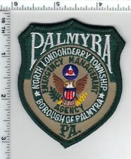 Palmyra Emergency Management (Pennsylvania) Cap/Hat Patch from the 1990's