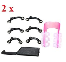2 x Secret Invisible Nose Up Lifting Clip Shaper Shaping Tool Hook Straightening