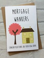 Personalised New Home Housewarming Moving Card Mortgage: Funny Rude Adult Humour