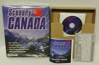Canada Scenery for Microsoft Flight Simulator 98 PC Big Box Game Mint Disc Rare