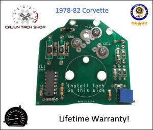 Corvette Tachometer TACH Chip - Circuit Board Rebuild, Repair Kit - NEW! 1978-82