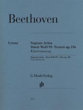 Henle Urtext Beethoven Soprano Arias - Duet WoO 93 - Trio, Op. 116