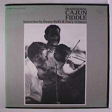 DEWEY BALFA & TRACY SCHWARZ: Cajun Fiddle LP (no booklet, white label, small ta