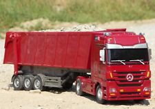 "RC LKW Mercedes-Benz ACTROS mit KIPPER Länge 44cm ""Ferngesteuert 40MHz""   50081"