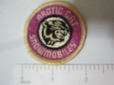 """New listing Vintage Arctic Cat Snowmobiles 2"""" round patch right facing 1 owner since 1973"""