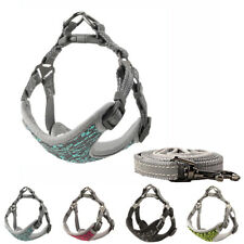Reflective Dog Harness Leash Set Adjustable Small Medium Large Pet Puppy Walking