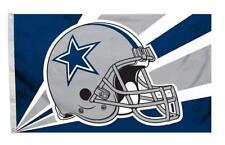 Dallas Cowboys 3x5 Flag - Helmet Design [New] Nfl Banner Sign Fan Wall Cave