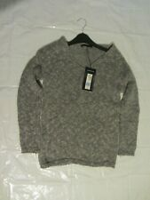 Womens Marks And Spencer Knitwear Metallic Grey Jumper Size 8 BNWT RRP £35