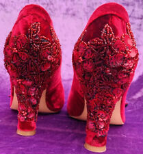 Authentic Belen Donate Womens Vintage Shoes Hand Crafted In Spain