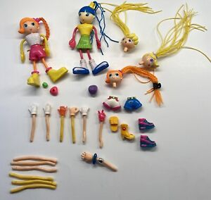 Mixed Lot Of Betty Spaghetty Dolls And Pieces