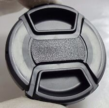 55mm lens front cap (snap on type) LC-55 plastic black for camera