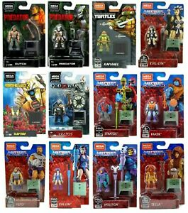 Mega Construx Heroes & Masters of the Universe - Choose From 12 Figures 2/6/2021