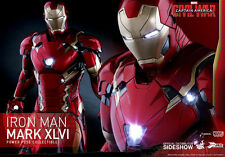 1/6 Hot Toys Captain America: Civil War - IRON MAN Mark XLVI (In BROWN SHIPPER)