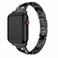 44mm Apple Watch Black Luxury Band