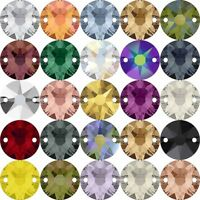Many Sizes Genuine SWAROVSKI 3201 Rivoli Square Flat Sew-On Stones Crystals