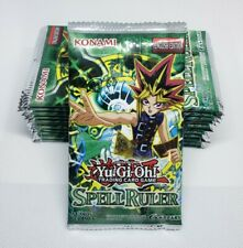 Yugioh Spell Ruler Boosters (x12) - New & Sealed - Half Box Count