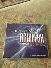 Christina Aguilera Just Be Free RARE CD Single