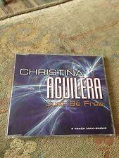 Christina Aguilera Just Be Free RARE CD Single