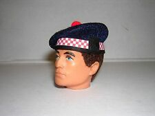 Banjoman 1:6 Scale Custom Made Argyll Balmoral Bonnet For Action Man / G I Joe