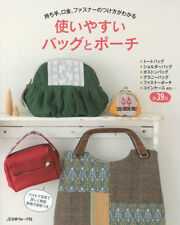 Useful Handmade Bags and Pouches - Japanese Craft Book