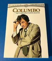 Columbo - Season 4 DVD 3-Disc Set 2006 - Peter Falk Complete Fourth Season