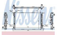 NISSENS Radiador, refrigeración del motor AUDI A4 A5 Q5 60318