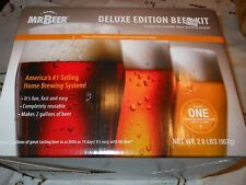 New Mr Beer Deluxe Edition 2 Gal Complete Home Brewing System Beer Kit Reusable