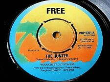 "FREE - THE HUNTER  7"" VINYL"