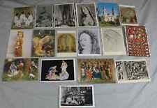 17 Bildkarten + Postkarten + Kunstkarten - religiöse Kunst / Volkskunst   /S237