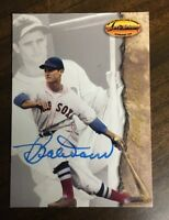 BOBBY DOERR 1994 TED WILLIAMS AUTOGRAPHED SIGNED AUTO BASEBALL CARD 3 HOF