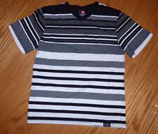 Boys M 10/12 SOUTHPOLE Striped S/S Shirt EXCELLENT CONDITION