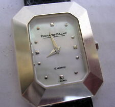 MONTRE PICHARD BALME EN ARGENT MASSIF VERS 2000