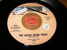 AKI ALEONG - THE MOON RIVER TWIST - TONIGHT   / LISTEN /  POPCORN R&B