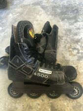 Vintage Rare! Koho 4500 Blac 00006000 k Off Ice Hockey Inline Skates size 8.5
