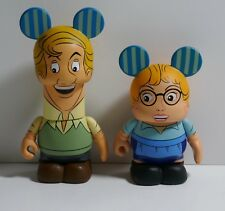 "Disney Vinylmation 101 Dalmatians 3"" Figures ~ Anita & Roger Radcliffe"
