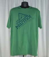 USED Men's Marmot 100% Organic Cotton Muir Regular Fit Tee T-Shirt VARIETY