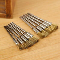 Brass Wire Wheel Brush For Rotary Grinder Cleaning Tool