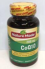 NatureMade CoQ10 200mg 100 Softgels Exp 2021+ 9357
